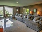 Heavenly Manor Living Room