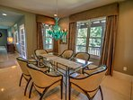 Dining Area for 6, up to 10 with second available table
