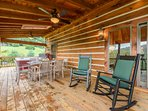 Outdoor Dining Table Seats Six People