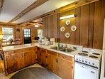 Fishing Cottage Kitchen