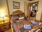 Fishing Cottage Queen Bedroom Off Main Living Area