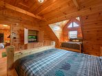 Camera da letto di livello superiore