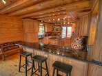 Eagles Nest Spacious Kitchen with Granite and Stainless