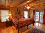 Eagles Nest King Master Suite on the Main Level