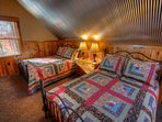 Dual Double Beds on 2nd Floor