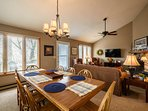 Ansley Heights Dining Table Seats 8