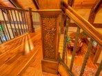 Adirondack Fine Woodwork Detail