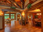 Adirondack Open Feel With Grand Wide Doorways