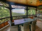 Adirondack View From Outdoor Dining Area