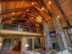 Adirondack Vaulted Timber Frame Ceilings