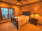 Adirondack Downstairs Queen Room
