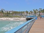 Take a walk on the world famous San Clemente Pier with its restaurants and view!