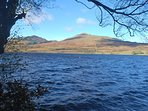 Walk to loch Venachar from Nether Glenny