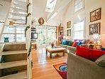 Turtle House Living Room - Christmas