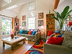 Turtle House Living Room- Christmas