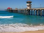 Participate in a wide range of activities at Huntington Beach, including surfing, yoga on the beach, or the excellent...