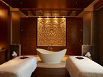 The on-site Spa will leave you feeling soothed and pampered