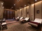 Share a spa day with a loved one at the stunning wellness centre