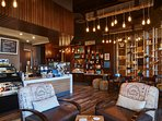 Spend time with friends and family in the stunning Blend Cafe