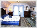 Beautiful Bessie Carter Bedroom Featuring A 1860's Handcarved Bed From The F.S. Giddings Estate