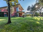 Villa Torre Alfresco dining Veranda