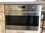Fantastic compact speed oven featuring standard, convection and microwave cooking.