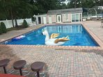 Private pool house and backyard for events only