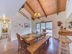 Sunriver Vacation Rental-8 Jackpine- Dining Room