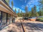 Sunriver Vacation Rental-8 Jackpine- Exterior Back Deck