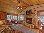 A relaxing alpine retreat awaits at this 1-bedroom Ruidoso vacation rental cabin.