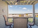 Enjoy this view from the back deck!