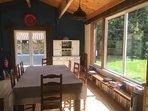 Inside the dining room/bar/games room