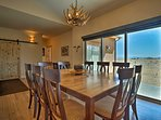 Share family dinners at the formal dining table.