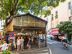 Antibes' covered market (open Tues to Saturday)