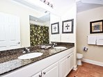 Private Master Bath with Granite Countertops