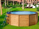 Pool available from mid May similar to this (manufacturers picture)