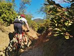 St Maxime offers endless trails for mountainbiking