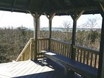 ENJOY this scenic vista of beautiful NANTUCKET SOUND from the Gazebo on the Bluff!