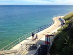 Lyme Regis sea walkway
