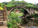 el emblemático puente de Liérganes a 20 min de casa