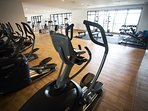 Spacious gym room