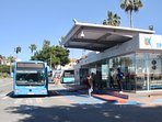 Harbour bus service transfer to many places including the Airport