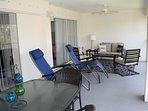 Huge over sized lanai to relax or dine