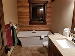 Downstairs Soaking Tub