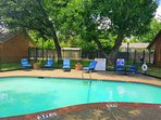 Community pool for Town house residents