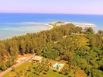 Explore unspoilt peninsula surrounding villa