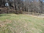 Fenced yard for our canine friends to enjoy