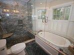 2nd Floor Master Bed Bathroom