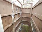 2nd Floor Bed Outdoor Shower