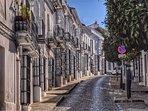 Vista desde nuestra puerta de la calle La Loba de Medina Sidonia